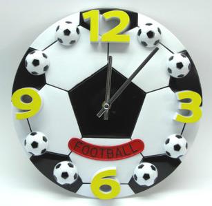 Часы настенные футбол/баскетбол