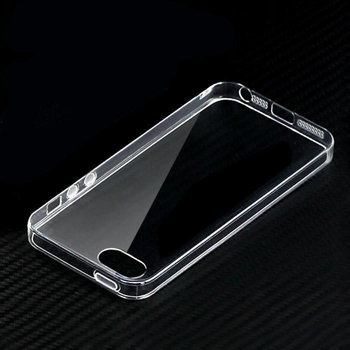 Чехол силиконовый прозрачный iPhone 5/5S