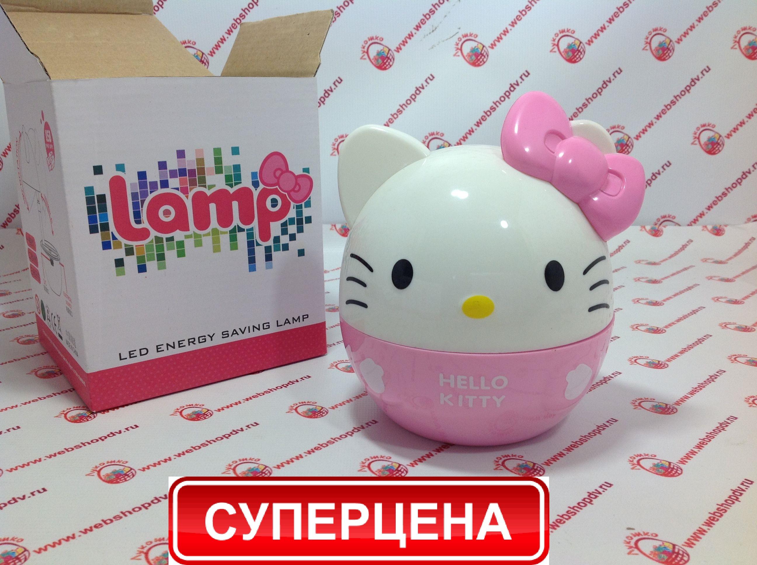 LED светильник Hello Kitty