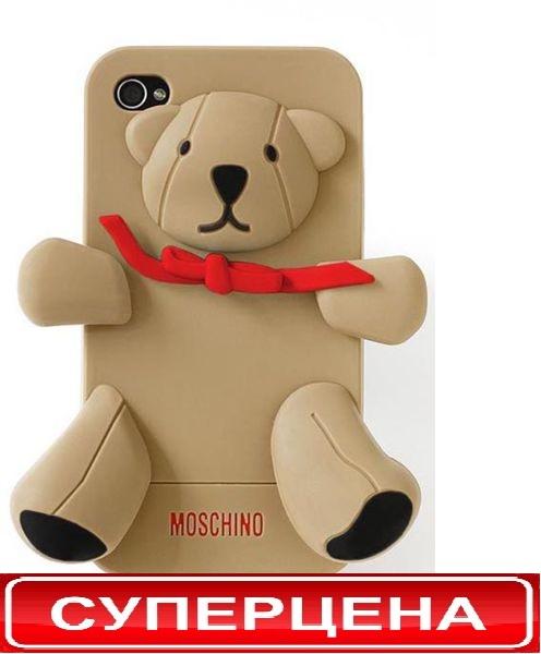 Чехол Moschino Bear Медведь для iPhone 6 +