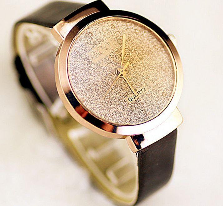 Часы кварцевые Золотистый песок