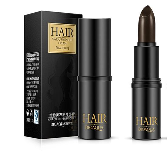 Помада-крем  для волос BIOAQUA 01 (коричневая)