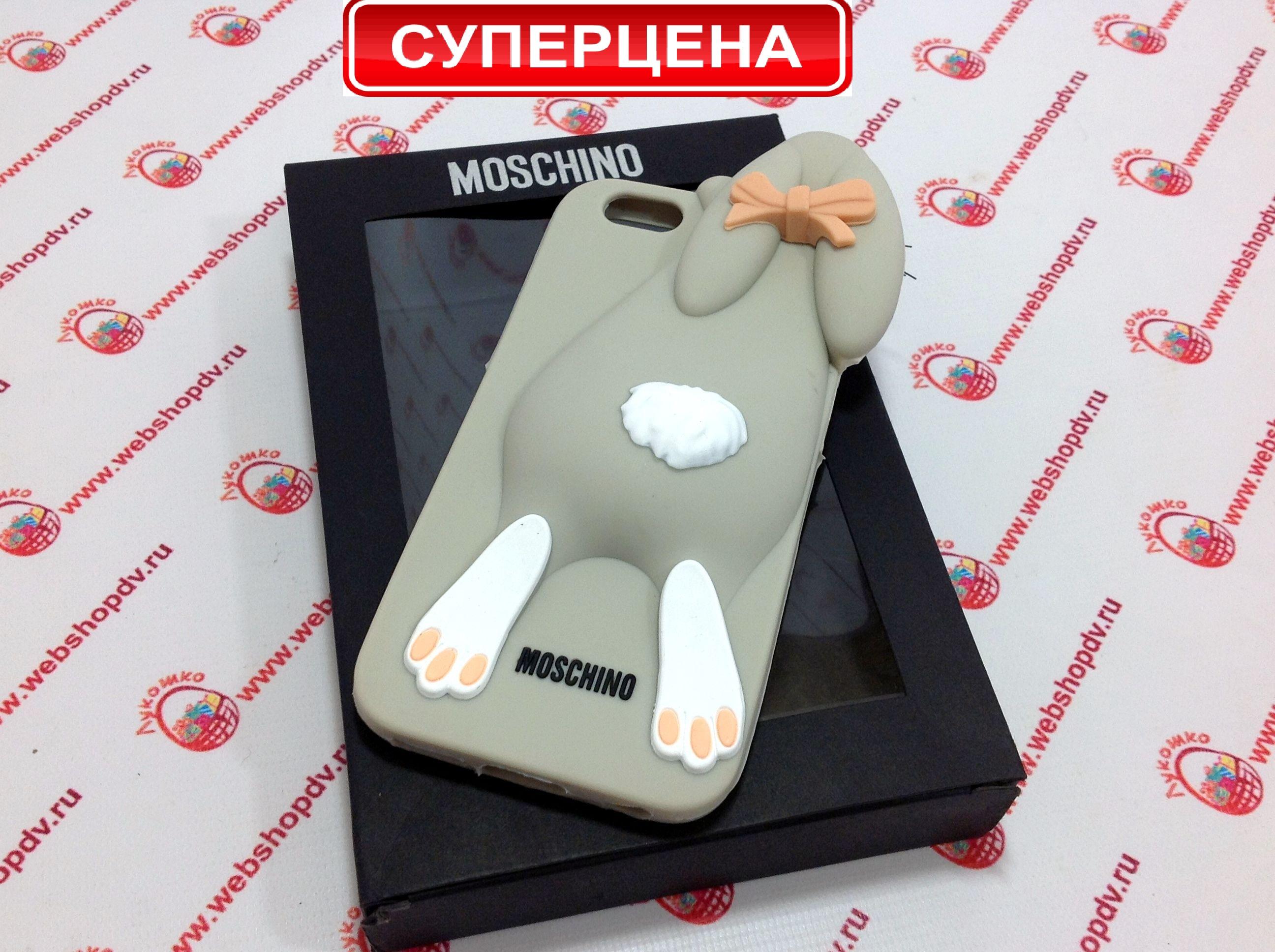 Чехол Moschino Violetta Rabbit для iPhone 6+ (цвета в ассортименте)