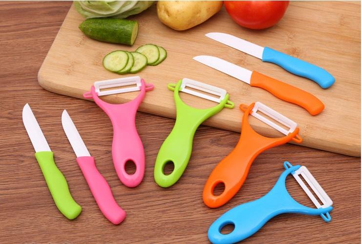 Набор для чистки овощей Ceramic Knives